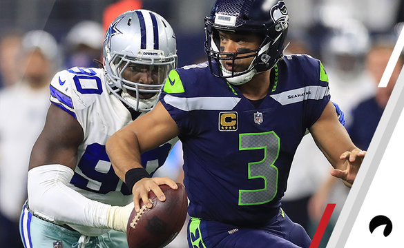 Russell Wilson Seahawks Cowboys NFL Las Vegas Expert Betting Picks Wild Card Weekend