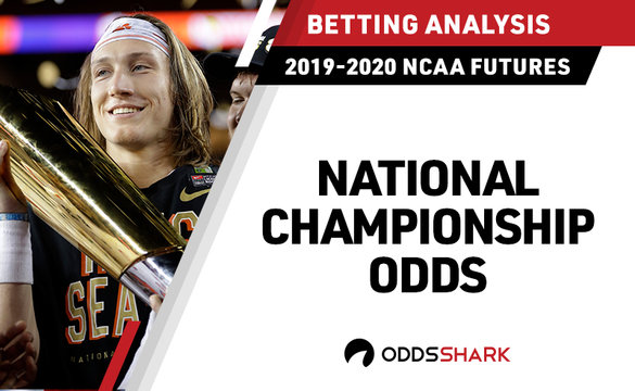 2020 National Championship Odds