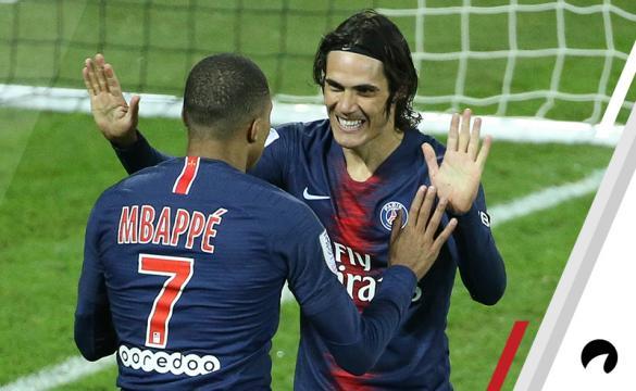 Kylian Mbappe Edinson Cavani PSG Odds to win 2018-19 Ligue 1 title France soccer
