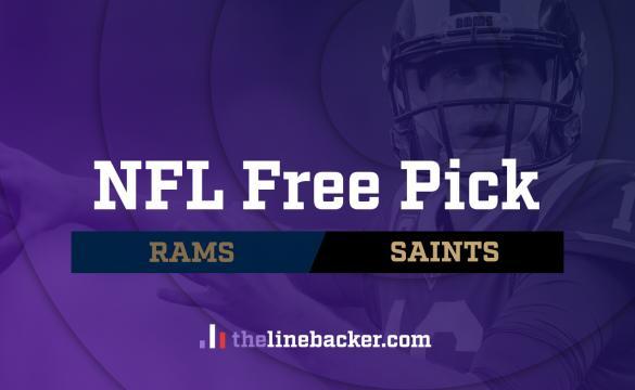 NFL Free Pick Rams Saints