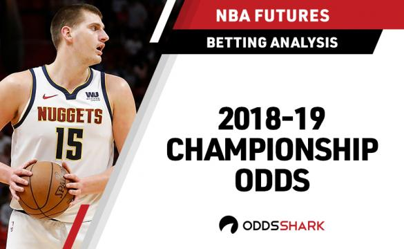 NBA Championship Odds January 21, 2019