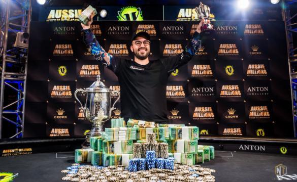 Bryn Kenney wins Aussie Millions