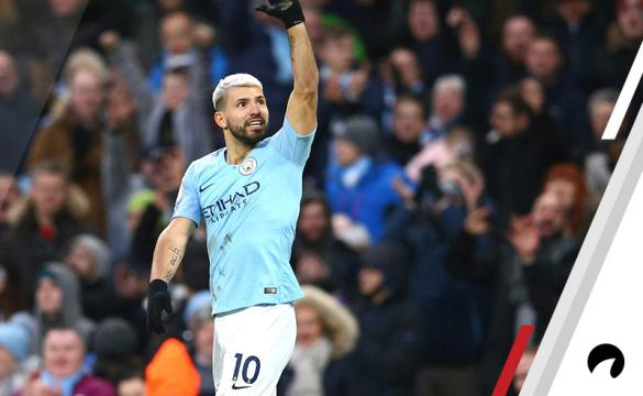 Sergio Aguero Manchester City Premier League Futurees