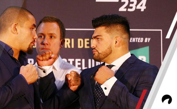 Ayuda para apostar y pronósticos para el UFC 234: Whittaker Vs Gastelum