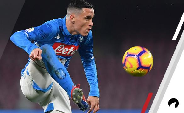 Jose Callejon Napoli Odds to Win 2018-19 Serie A soccer Italy