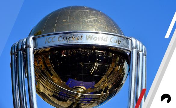 2019 ICC Cricket World Cup Trophy Odds