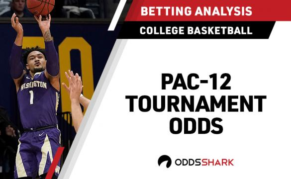 Odds to win Pac 12 tournament