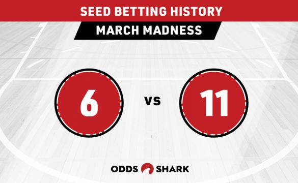 March Madness: 6 vs 11 Betting History