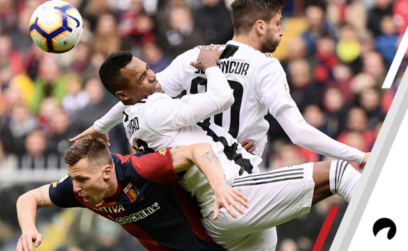 Juventus Genoa Odds to Win 2018-19 Serie A soccer Italy