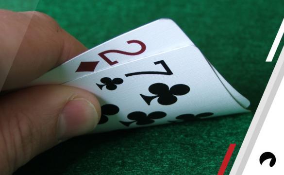 You should fold hands like 7-2.