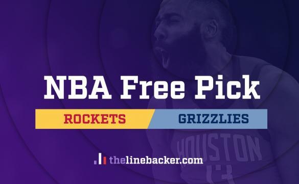 NBA Free Pick Linebacker Houston Rockets at Memphis Grizzlies