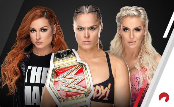 Becky Lynch, Ronda Rousey, and Charlotte Flair will main event Wrestlemania in a Triple Threat Match