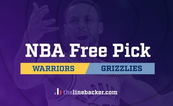 NBA Free Pick Linebacker Golden State Warriors at Memphis Grizzlies