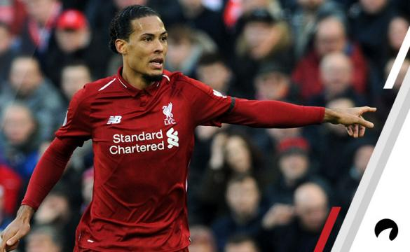 Virgil Van Dijk Liverpool Premier League Title Odds