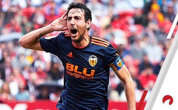 Daniel Parejo Valencia Europa League Quarterfinals