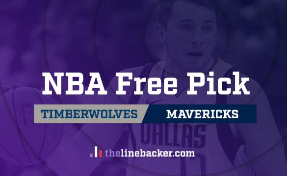 NBA Free Pick Linebacker Minnesota Timberwolves at Dallas Mavericks