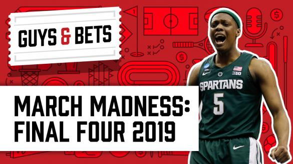 OddsShark Guys & Bets March Madness Final Four Michigan State Cassius Winston
