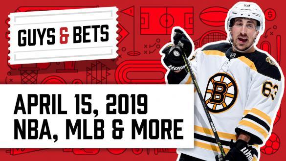 OddsShark Guys & Bets Brad Marchand Boston Bruins Andrew Avery Kris Abbott