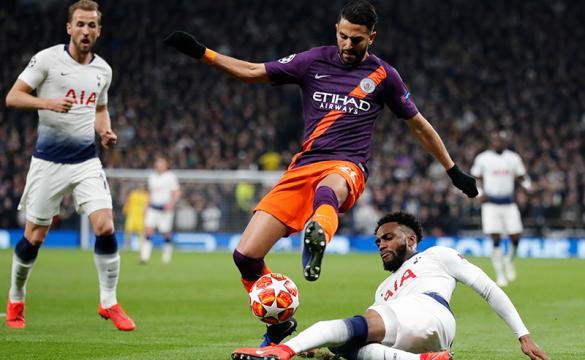 Previa para apostar en el Manchester City Vs Tottenham de la Champions League 2018-19