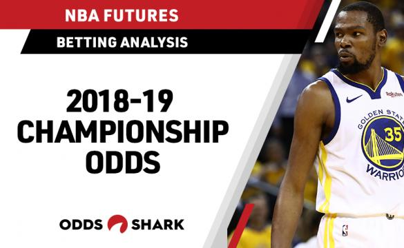NBA Title Odds April 16, 2019