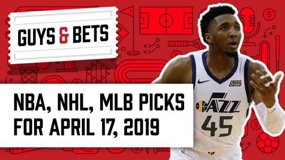 OddsShark Guys & Bets Jonny OddsShark Kris Abbott Donovan Mitchell Utah Jazz