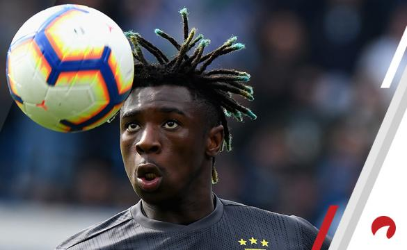 Moise Kean Juventus vsFiorentina Betting Odds Preview Serie A soccer Italy