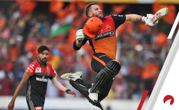David Warner IPL Indian Premier League cricket Sunrisers Hyderabad Week 5 Betting Preview