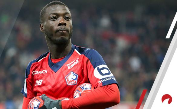 Nicolas Pepe Toulouse vs Lille Betting Odds Preview Ligue 1 soccer France