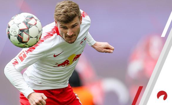 Timo Werner Borussia Monchengladbach vs RB Leipzig Betting Odds Preview Bundesliga soccer Germany