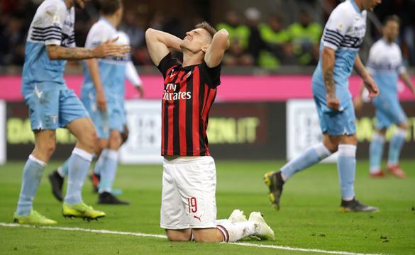 Previa para apostar en el AC Milan Vs Lazio de la Coppa Italia 2018-19