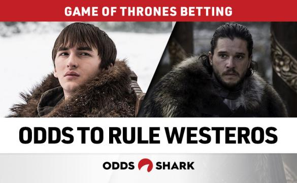 A look at the odds on which 'Game of Thrones' character will be ruling Westeros after the season finale.