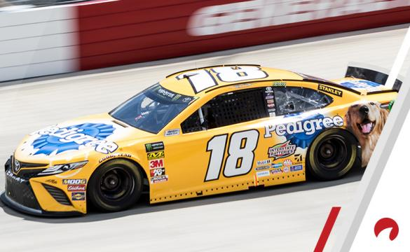 Kyle Busch is the favorite in the Kansas Speedway Odds.