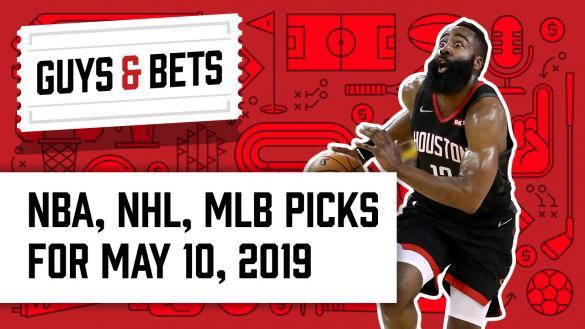 Odds Shark Guys & Bets Jonny OddsShark Kris Abbott James Harden Houston Rockets