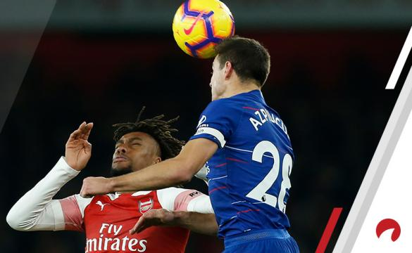 Alex Iwobi Cesar Azpilicueta 2019 Europa League Final Preview: Chelsea vs Arsenal