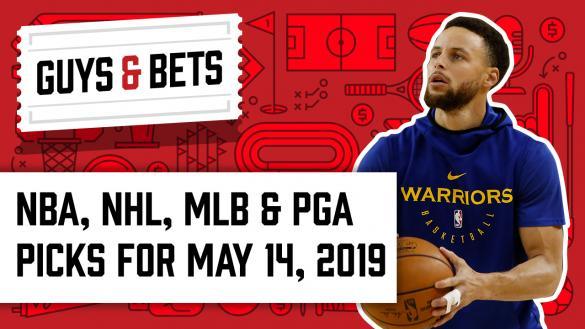 Odds Shark Guys & Bets Jonny OddsShark Kris Abbott Stephen Curry Golden State Warriors Game 1