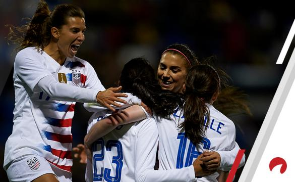 USA women Alex Morgan Christen Press Tobin Heath Rose Lavelle France 2019 Women's FIFA World Cup Betting Preview