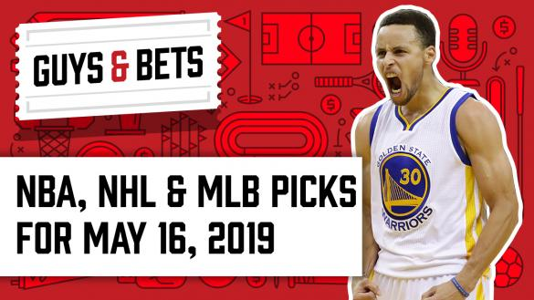 Odds Shark Guys & Bets Joe Osborne Kris Abbott Stephen Curry Golden State Warriors NBA Playoffs