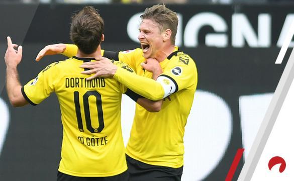 Mario Gotze Monchengladbach vs Borussia Dortmund Betting Odds Preview Bundesliga soccer Germany
