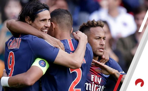 Edinson Cavani Neymar Kylian Mbappe PSG vs Dijon Betting Odds Preview Ligue 1 soccer France
