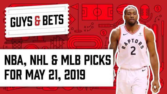 Odds Shark Guys & Bets Joe Osborne Kris Abbott Andrew Avery Kawhi Leonard Toronto Raptors NBA