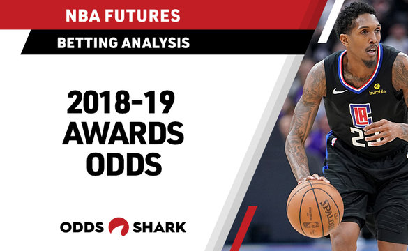 NBA Regular Season Awards Betting Odds May 21, 2019
