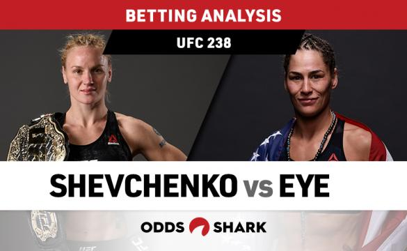 UFC 238 Shevchenko vs Eye Betting Odds