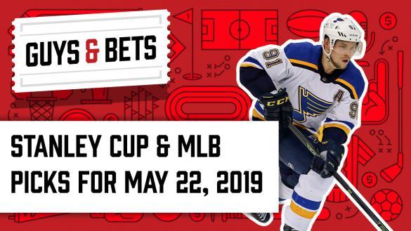 Odds Shark Guys & Bets Joe Osborne Kris Abbott Andrew Avery Chalk Ninja Vladimir Tarasenko St. Louis Blues Stanley Cup