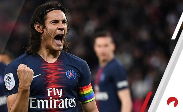 Edinson Cavani Reims vs PSG Betting Odds Preview Ligue 1 soccer France