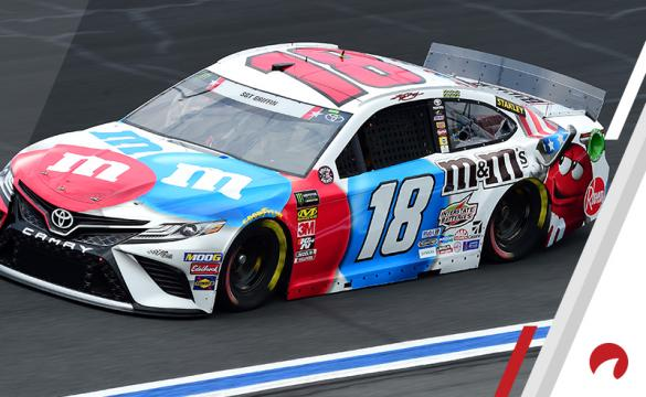 Kyle Busch is the favorite in the Pocono Raceway odds.