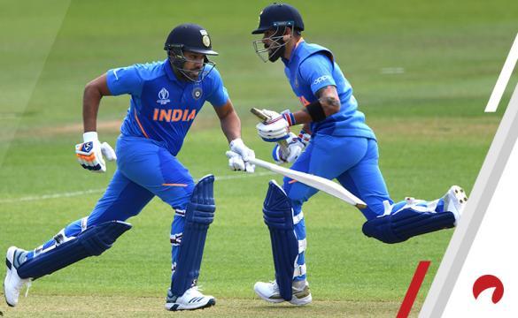 Virat Kohli Rohit Sharma 2019 Cricket World Cup Betting India South Africa