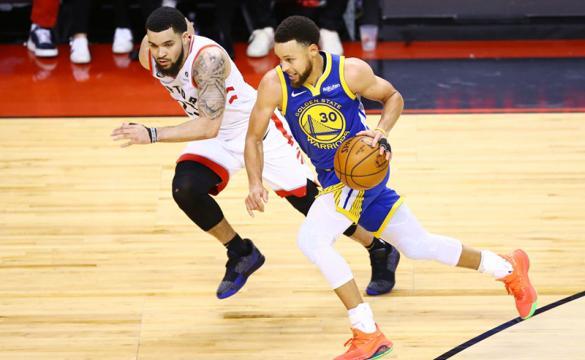 Previa para apostar en el Partido 3 de la final entre Golden State Warriors Vs Toronto Raptors de la NBA 2018-19