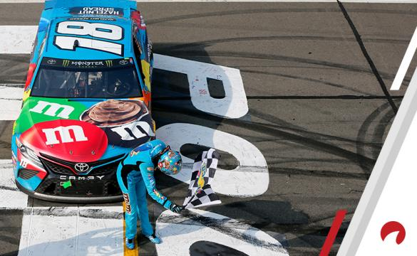 Kyle Busch is the favorite in the Michigan International Speedway Odds.