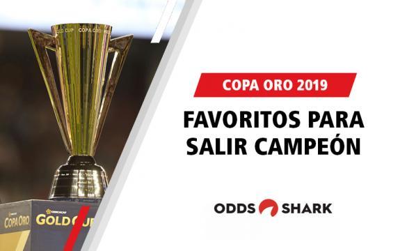 Favoritos por las casas de apuestas para ganar la Copa Oro 2019