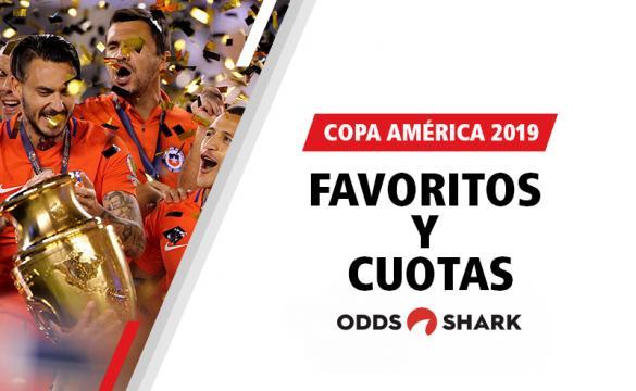 Favoritos por las casas de apuestas para ganar la Copa América 2019